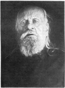 Священномученик митрополит Серафим (Чичагов). Фото 1937 г. из следственного дела (сделано в Таганской тюрьме)